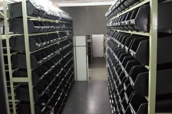 Estoque de componentes eletrônicos