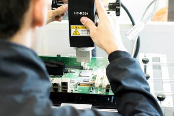 Substituição de componente de tecnologia BGA