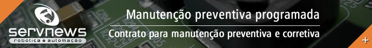 Contrato de manutenção preventiva programada em robôs - Servnews