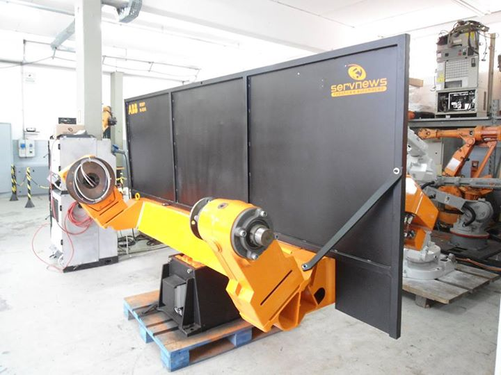 Reforma de robôs industriais
