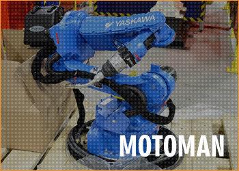 Venda de peças equipamentos MOTOMAN