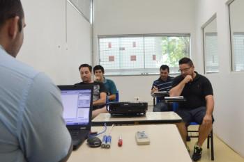 Sala de aprendizagem teórica (programação)