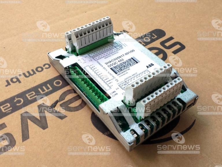 DSQC652 – 3HAC025917-001 – ABB